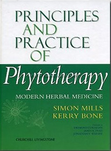 Principles and Practice of Phytotherapy, by Simon Mills and Kerry Bone